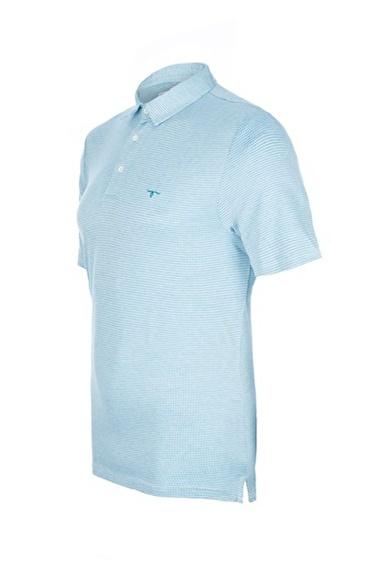 Silk and Cashmere Tişört Mavi